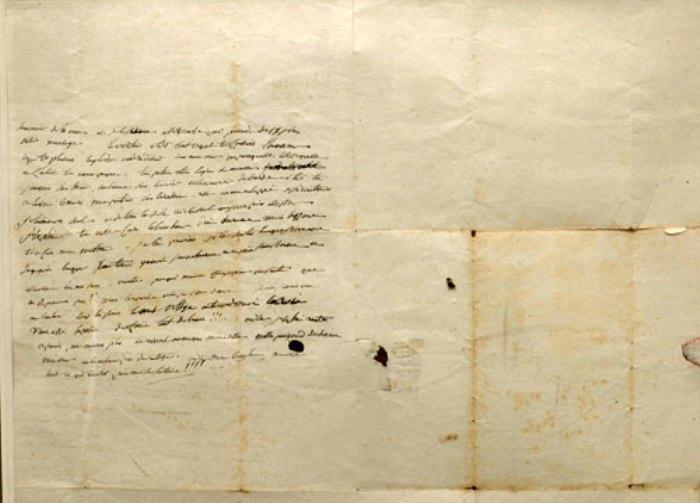 Письмо Наполеона к Жозефине