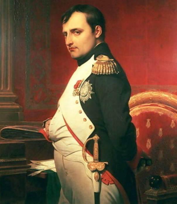 Поль Деларош. Портрет Наполеона Бонапарта