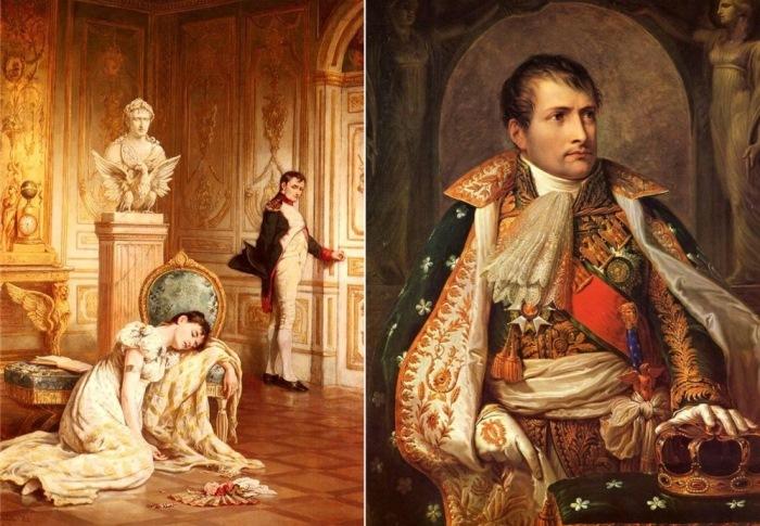 Ласлетт Джон Пот. Прощание Наполеона с Жозефиной. Андреа Аллиани. Портрет Наполеона