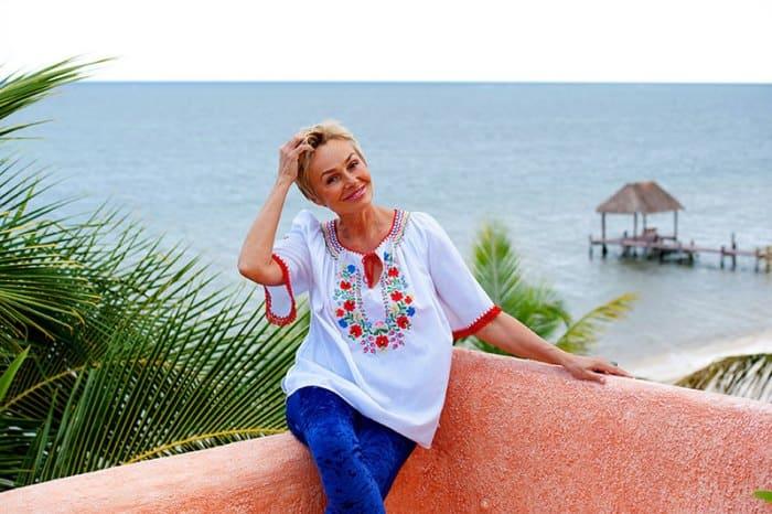 Наталья Андрейченко на своей вилле в Мексике | Фото: natalyaandreychenko.com