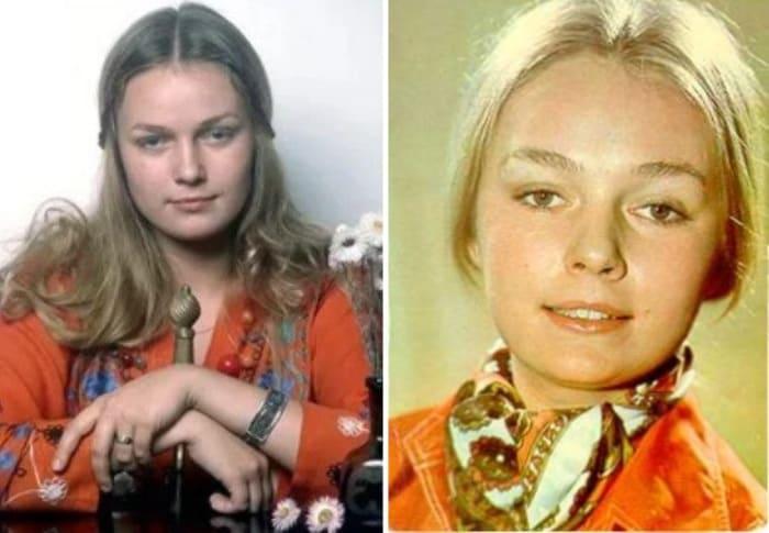 Актриса в юности | Фото: kino-teatr.ru, uznayvse.ru