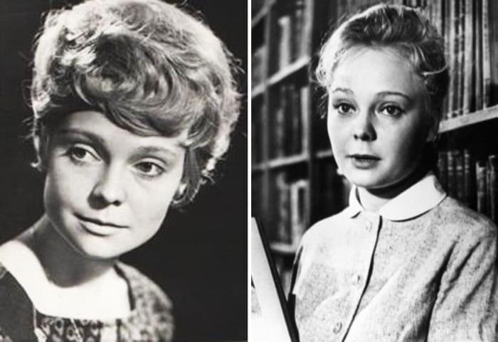Актриса в юности | Фото: kino-teatr.ru, aif.ru