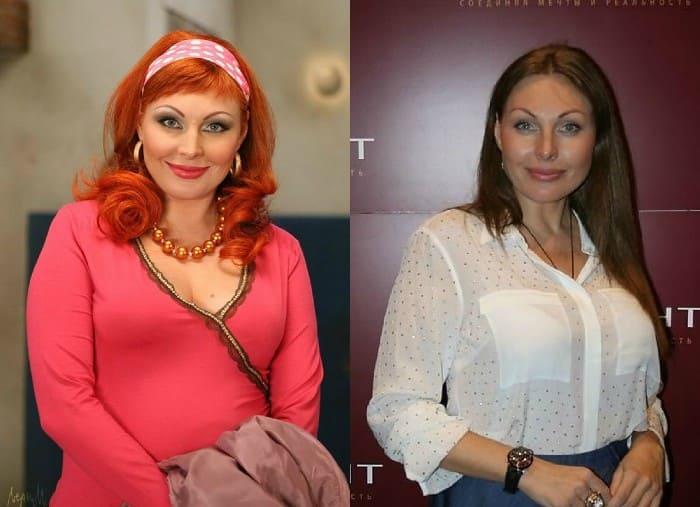 Наталья Бочкарева в роли Даши Букиной и в наши дни   Фото: kinohit.mirtesen.ru