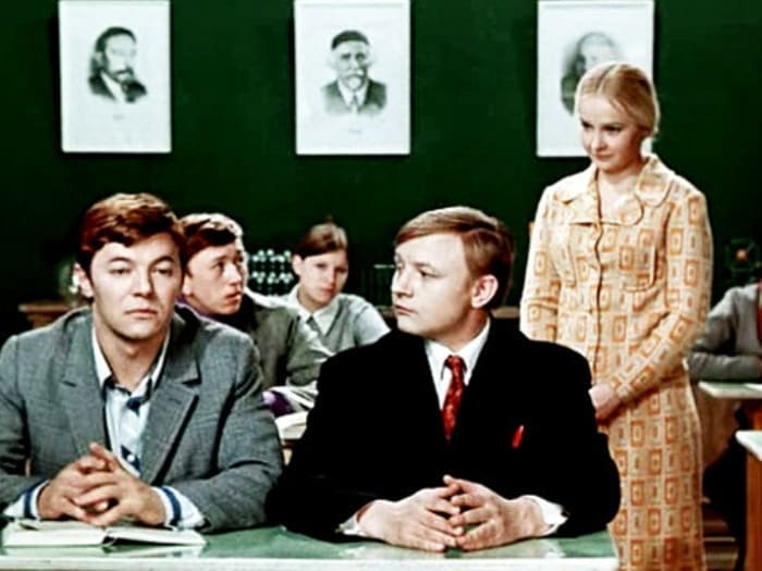 Кадр из фильма *Большая перемена*, 1972-1973   Фото: kino-teatr.ru