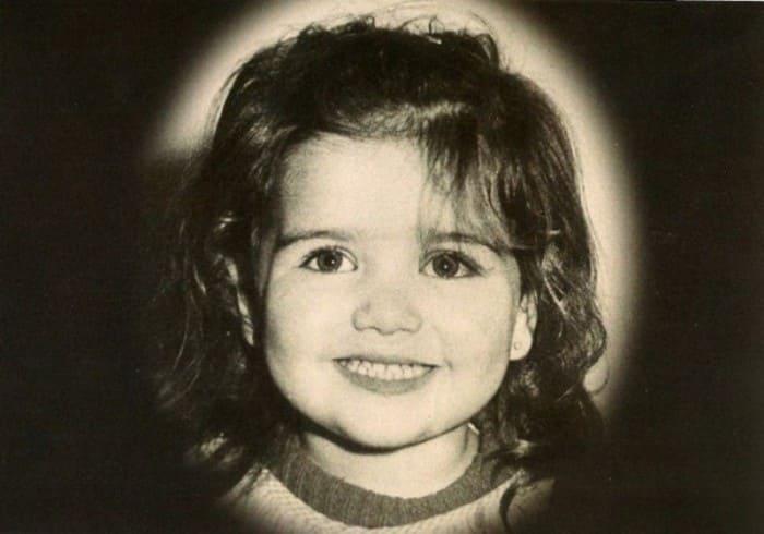 Наталия Орейро в детстве | Фото: diwis.ru