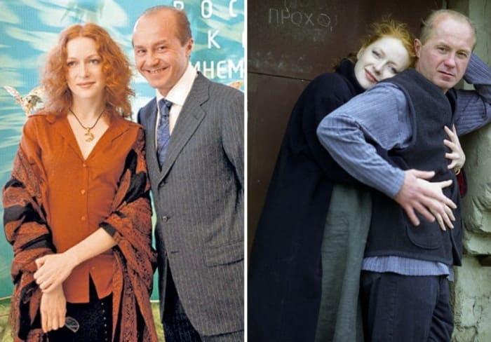 Наталья Рогожкина и Андрей Панин | Фото: kino-teatr.ru, biographe.ru