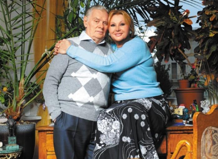 Актриса с мужем | Фото: tele.ru