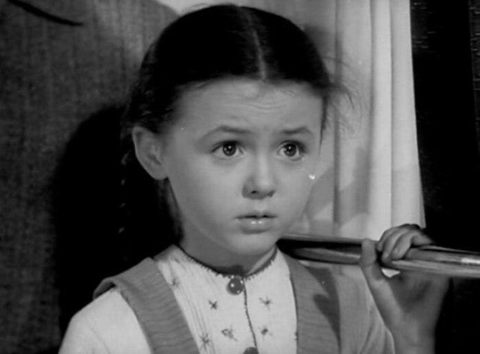 Наталья Селезнева в фильме *Алеша Птицын вырабатывает характер*, 1953 | Фото: kino-teatr.ru