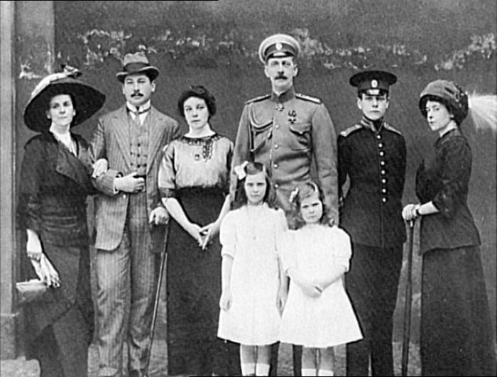 Семья Натали Палей