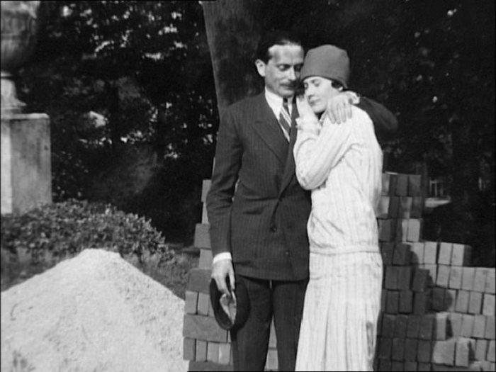 Натали Палей с мужем Люсьеном Лелонгом