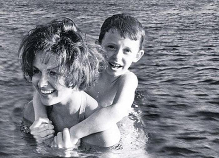 Наталья Фатеева с сыном Володей | Фото: liveinternet.ru