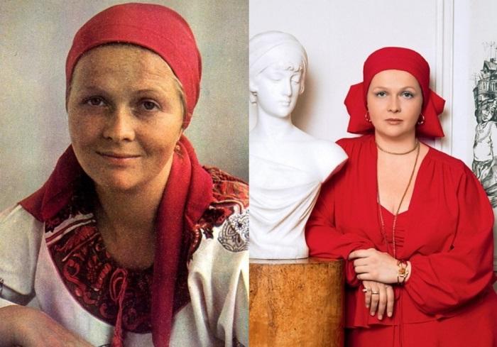 Лучшая актриса по результатам опросов журнала *Советский экран*   Фото: uznayvse.ru и dailyculture.ru
