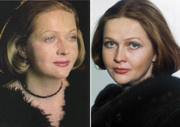 Лучшая актриса по результатам опросов журнала *Советский экран* | Фото: kinopoisk.ru и kino-teatr.ru