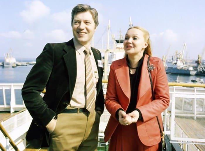Наталья Гвоздикова с мужем | Фото: kino-teatr.ru