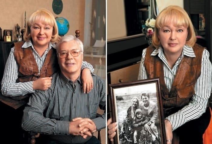 Наталья Гвоздикова с мужем | Фото: tele.ru