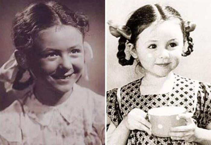 Наталья Селезнева в детские годы | Фото: kino-teatr.ru