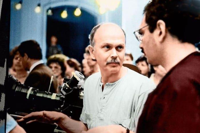 Николай Немоляев на съемках фильма *Город Зеро*, 1988 | Фото: kino-teatr.ru
