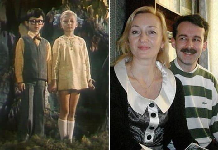 Юрий Нахратов и Наталья Симонова тогда и сейчас | Фото: kino-teatr.ru