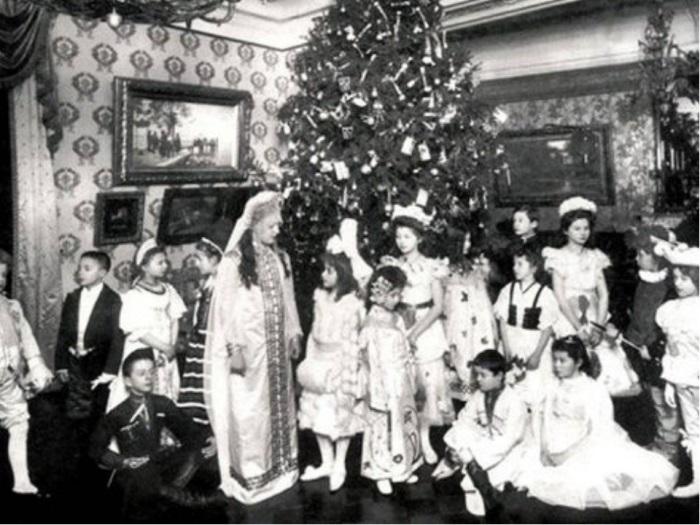 Рождественский праздник, 1914