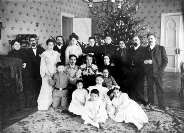 Новый год в царской России