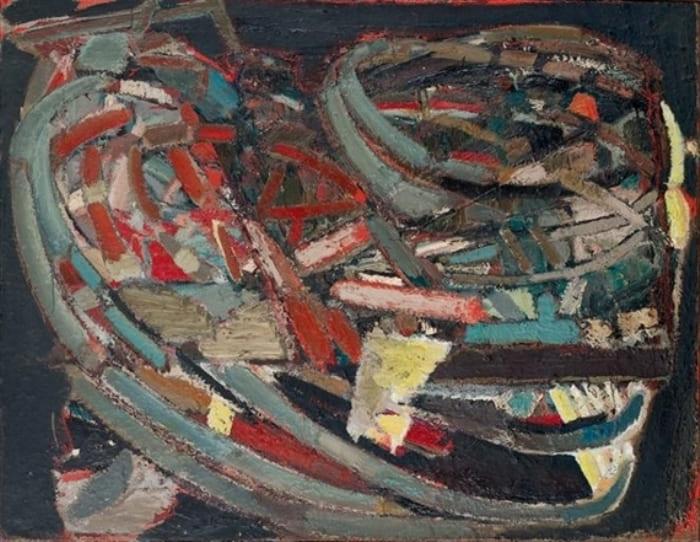Николя де Сталь. Композиция, 1947 | Фото: wikiart.org