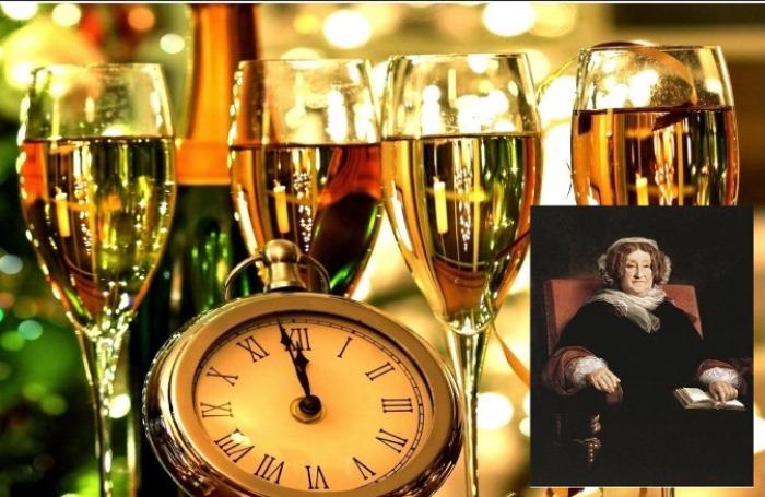 Николь Клико и самый новогодний напиток