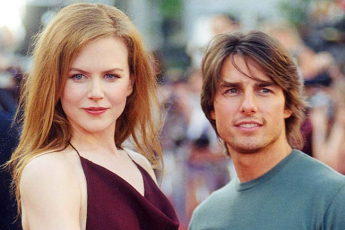 Николь Кидман и ее первый муж Том Круз | Фото: 24smi.org