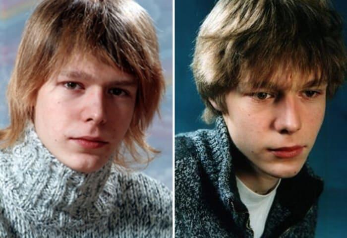 Никита Ефремов в юности | Фото: kino-teatr.ru, biografii.net