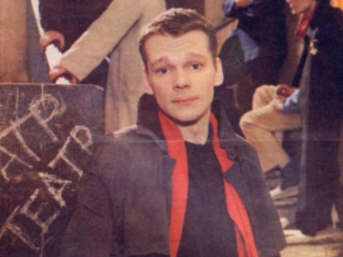 Никита Михайловский на обложке журнала *Советский экран*, январь 1990 | Фото: kino-teatr.ru