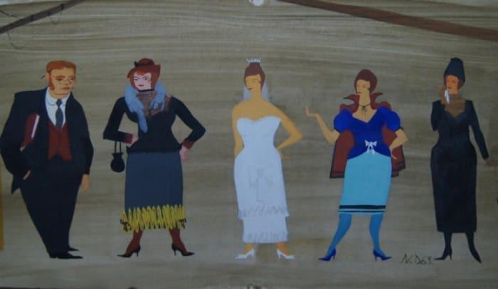Н. Двигубский. Театральный эскиз, 1963 | Фото: forums-su.com