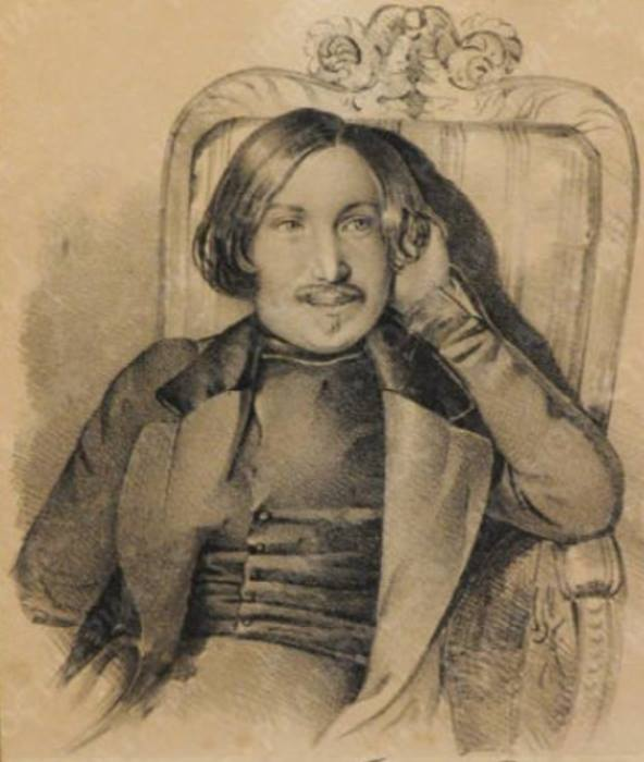 К. Мазер. Портрет Н. Гоголя, 1841 | Фото: ec-dejavu.ru