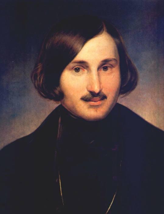 Ф. Моллер. Портрет Н. В. Гоголя, 1841 | Фото: gogol.lit-info.ru