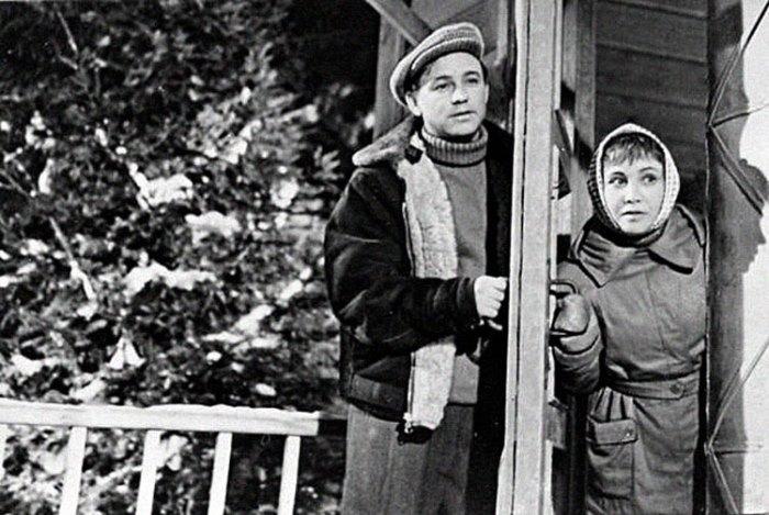 Кадр из фильма *Девчата*, 1961