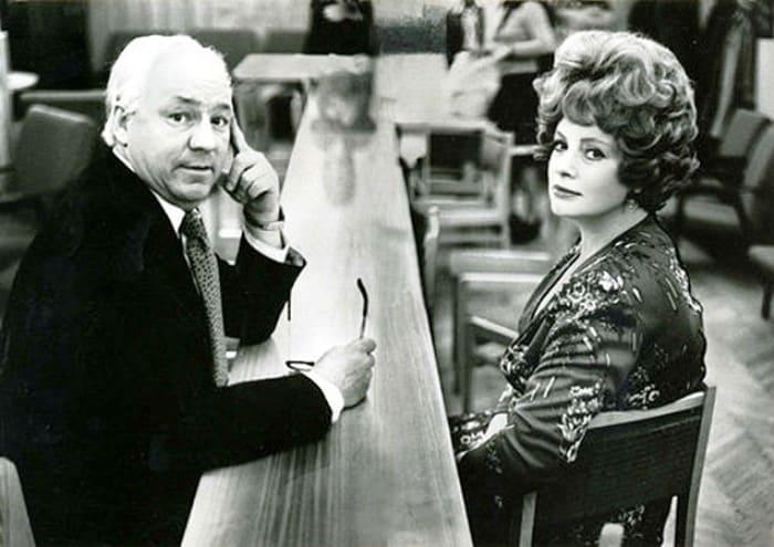 Николай Рыбников с женой, Аллой Ларионовой | Фото: kino-teatr.ru