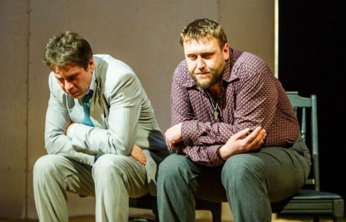 Николай Шрайбер на сцене театра | Фото: aif.ru
