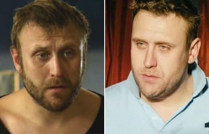Николай Шрайбер в фильмах *Уравнение любви*, 2012, и *Околофутбола*, 2013