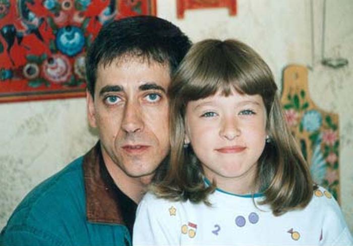 Актер с дочерью Аней | Фото: kino-teatr.ru
