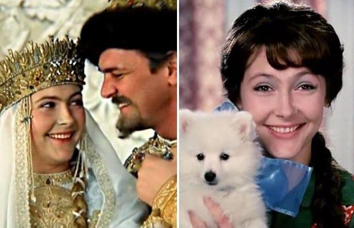 Нина Маслова в фильмах *Иван Васильевич меняет профессию*, 1973, и *Афоня*, 1975 | Фото: aif.ru и kino-teatr.ru