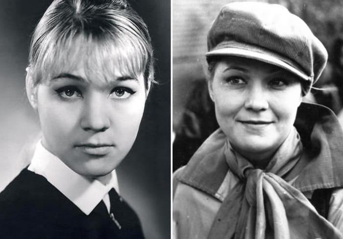 Актриса в молодости | Фото: kino-teatr.ru и 7days.ru