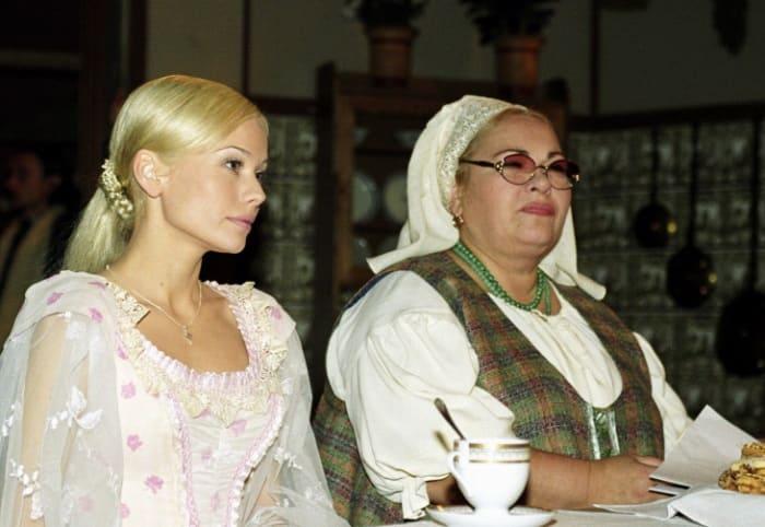 На съемках сериала *Бедная Настя*, 2003-2004 | Фото: goodhouse.ru