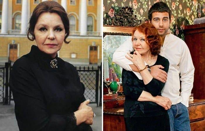 Актриса Нина Ургант и ее знаменитый внук   Фото: kino-teatr.ru