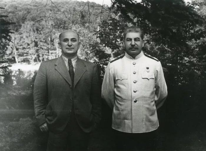 Берия и Сталин | Фото: anews.com