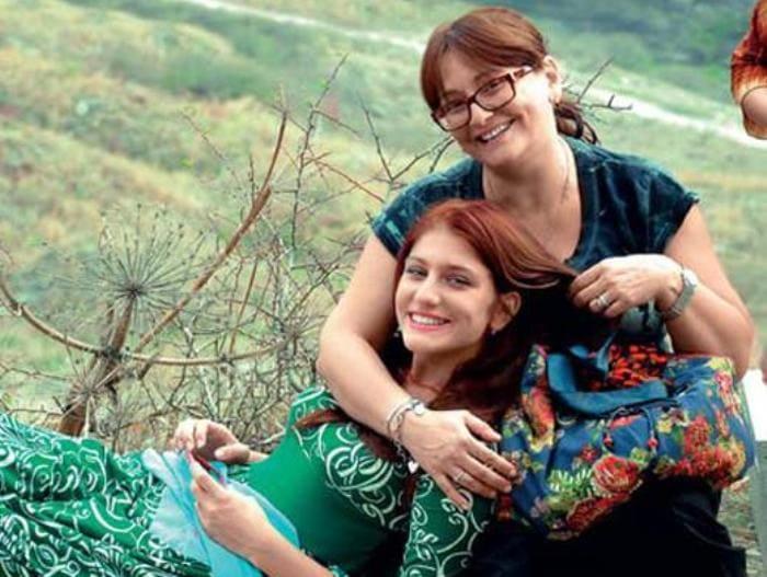 Нино с матерью, актрисой Ией Нинидзе | Фото: womanhit.ru