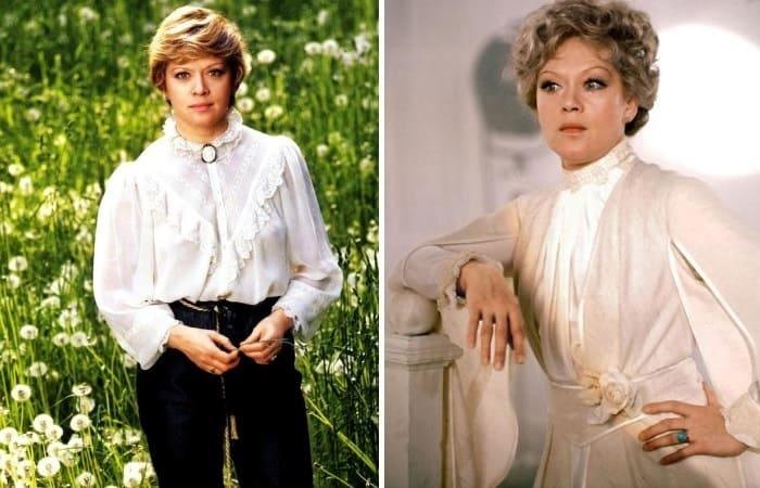 Актриса, которая могла бы сыграть еще в трех легендарных фильмах Рязанова | Фото: alisa-freindlih.ru и russia.tv
