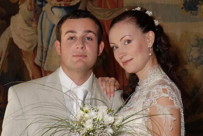 Актриса с мужем, Александром Нестеровым | Фото: visaforus.ru
