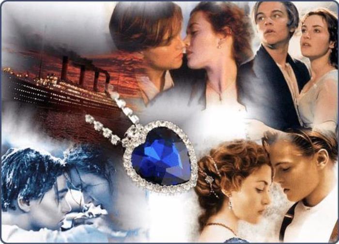 Знаменитое *Сердце океана* из фильма *Титаник* | Фото: dailymotion.com