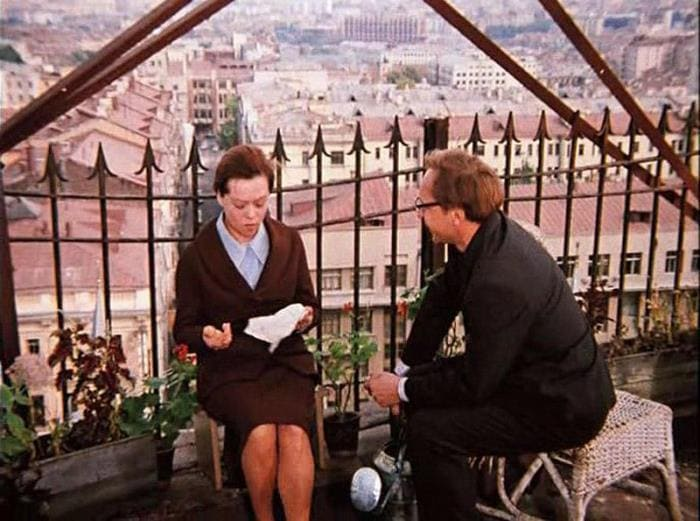 Кадр из фильма *Служебный роман*, 1977 | Фото: bigpicture.ru
