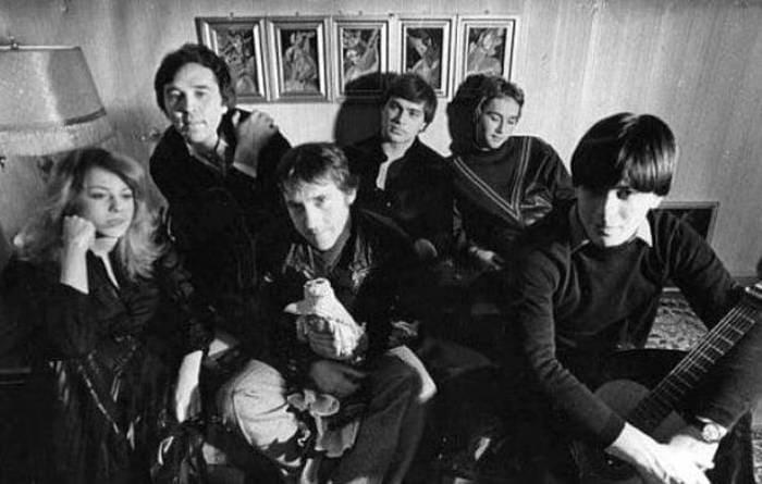 Владимир Высоцкий и Оксана Афанасьева у Вячеслава и Егора Зайцевых, 1979 | Фото: izbrannoe.com