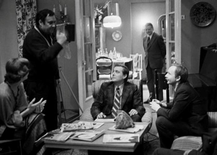 На съемках фильма *Служебный роман*, 1977 | Фото: cameralabs.org