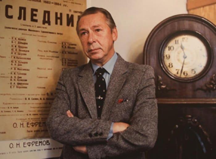 Актер, сценарист, режиссер театра и кино Олег Ефремов | Фото: tomskw.ru